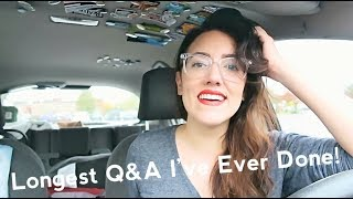 MY MOST PERSONAL Q&A YET (BIRTH CONTROL, MENTAL DIAGNOSIS...) | Katie Carney