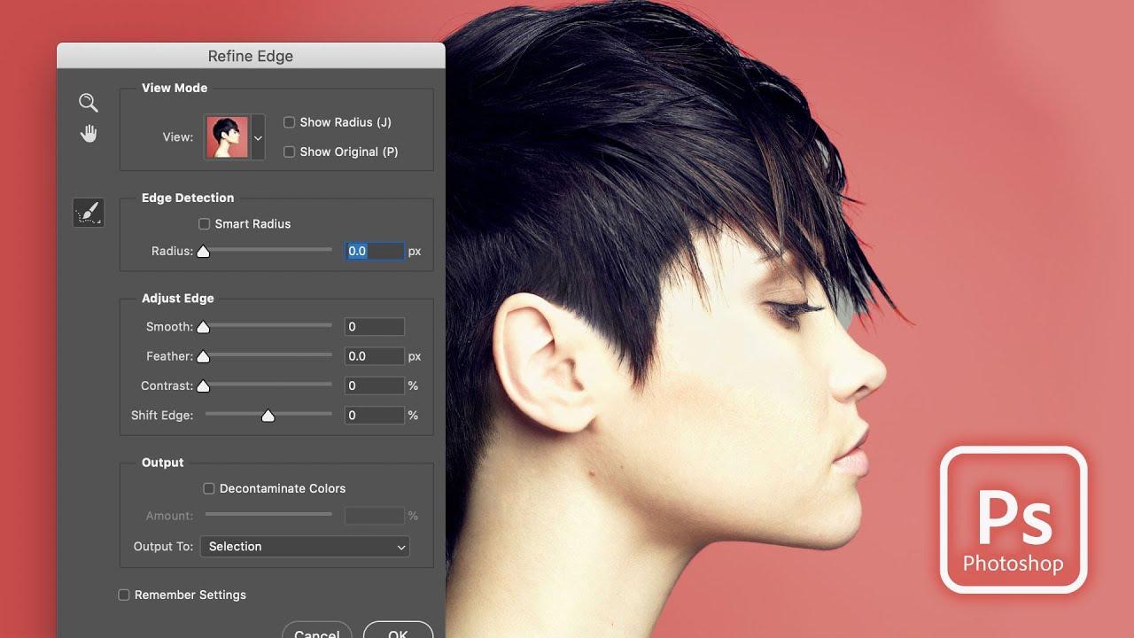 Bring Back Refine Edge in Photoshop CC 2017