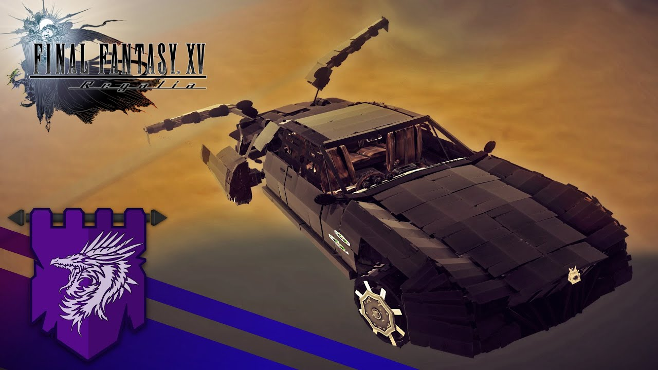 Final Fantasy Xv How To Get The Flying Car