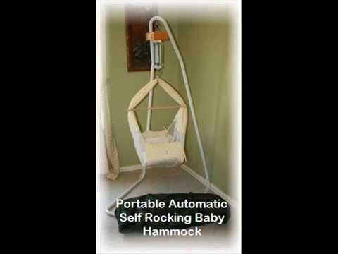 portable automatic baby hammock  u0026  puterized baby hammock   mamalittlehelper portable automatic baby hammock  u0026  puterized baby hammock      rh   youtube