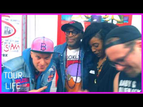 Shinobi Ninja - TOUR LIFE - (EP 52) Chillin w/ Spike Lee, Darryl Jennifer Bad Brains & More!!!