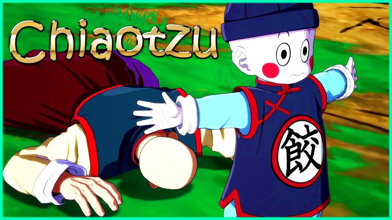 Chiaotzu S Determination To Save Everyone Dragon Ball Fighterz Game Krillin Gameplay Youtube