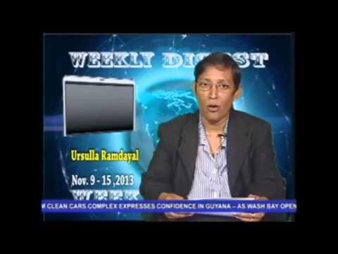 Noticias de Guyana al 18 Nov 2013 #Esequibo