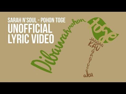 Sarah N' Soul - Pohon Toge (Unofficial lyric video)