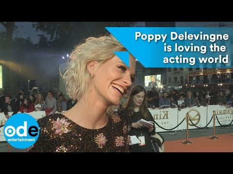 Kingsman 2: Poppy Delevingne is loving the acting world