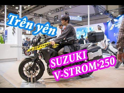 Giá xe Suzuki V-Strom 250 ABS 2018 tại Tokyo Motorcycle Show