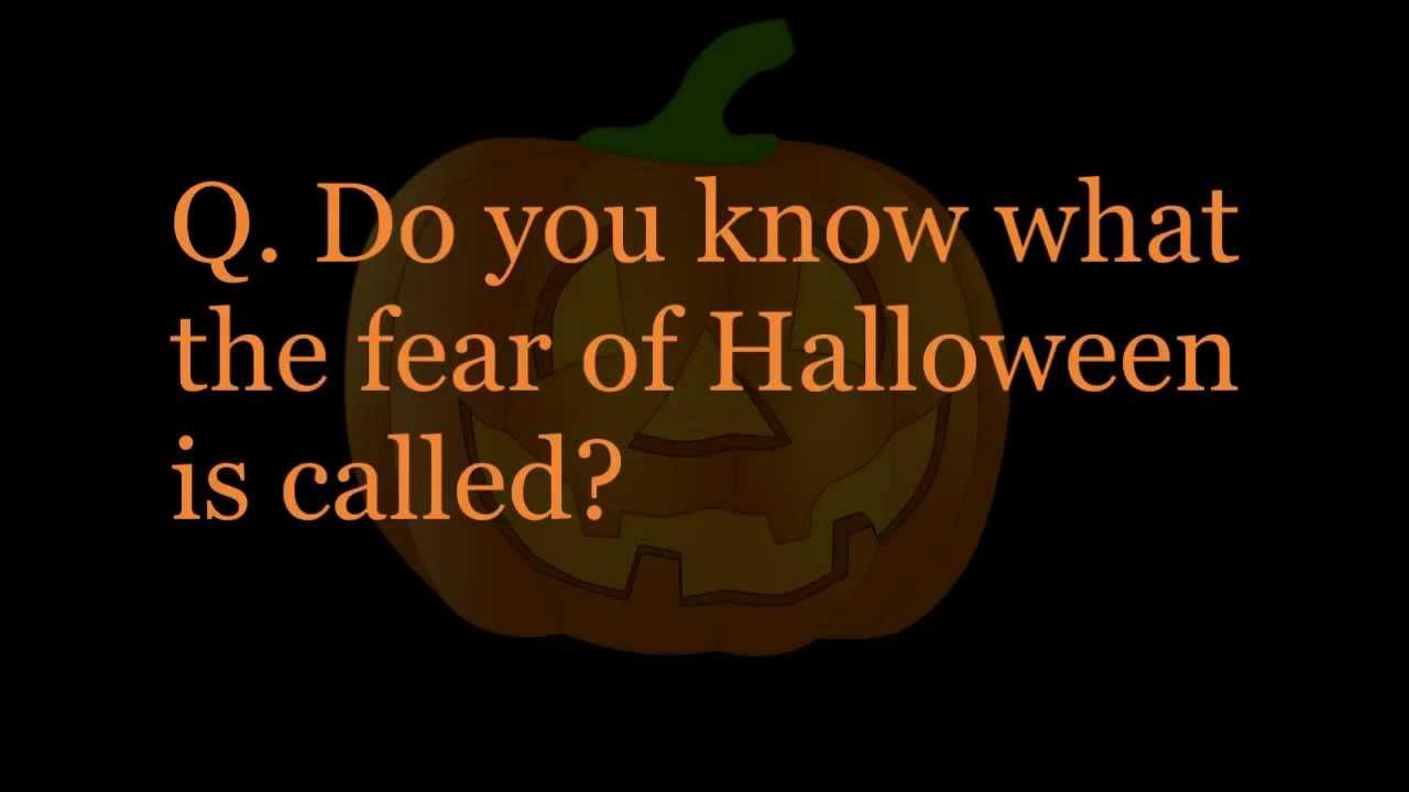 Halloween Trivia!! - YouTube