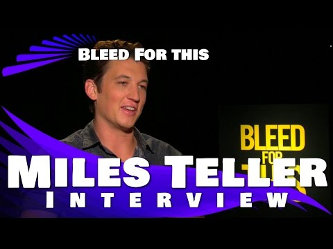 Miles Teller Interview - BLEED FOR THIS