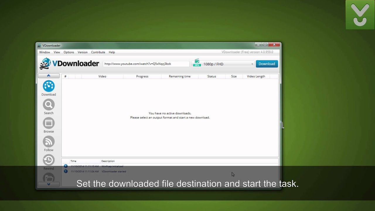 Download VDownloader - Browse and save videos from the Web - Download Video Previews