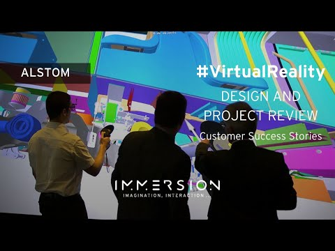 Collaborative Immersive 3D Room by Immersion for Alstom