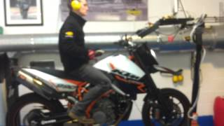 Hammer and Tongs Performance, KTM 990 dyno