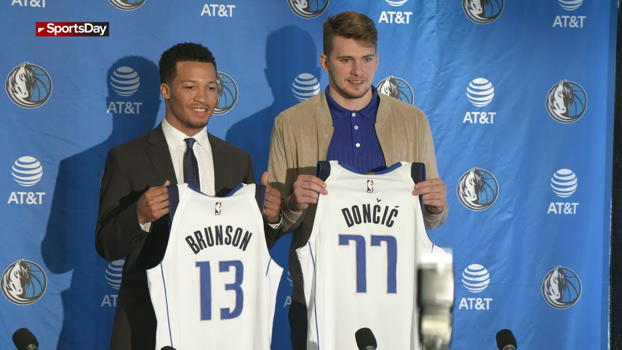 Mavericks Draft Pick Luka Doncic I Don T Know Much About Texas But I Know About The Cowboys Rookie S Jersey Number Revealed
