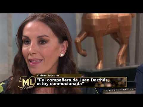Viviana Saccone detalló cómo se comportaba Juan Darthés en las grabaciones