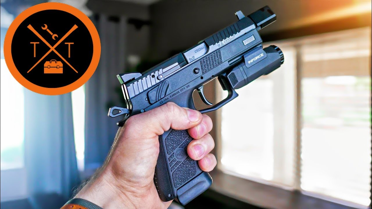 CZ P-07 Tactical // Space Force Blaster 2 0
