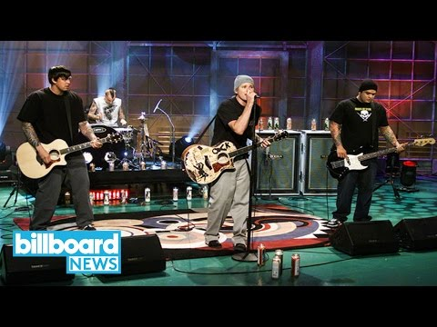 Tom DeLonge Revisits Box Car Racer's Lone Album 15 Years Later | Billboard News