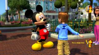 Disneyland Adventures Xbox 360 Gameplay