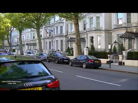 Holland Park, the Street where David and Victoria Beckham have their family's £31.5m London Mansion.