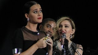Katy Perry Grinds on Madonna at Star-Packed L.A. Show!
