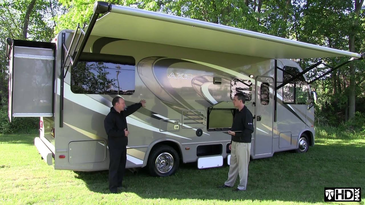 2016 Axis Ruv Motorhome From Thor Motor Coach Youtube
