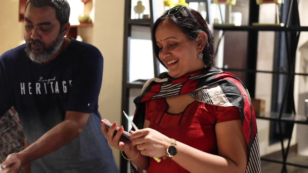 Sonali Singh Rao + Fortune Chemie Resin Art Workshop Bangalore, India