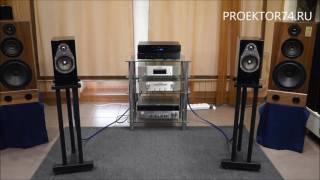 Прослушивание напольной акустики KEF R100 & Aleks Audio Gold  творческая встреча