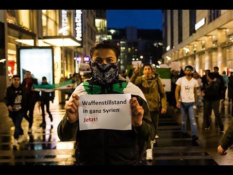14  Dezember Demo für Aleppo in Dresden