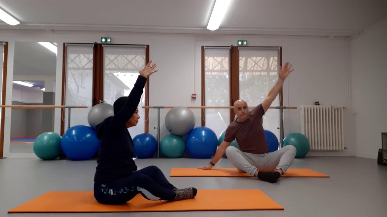 Un duo très sportif : Pilates renforcé