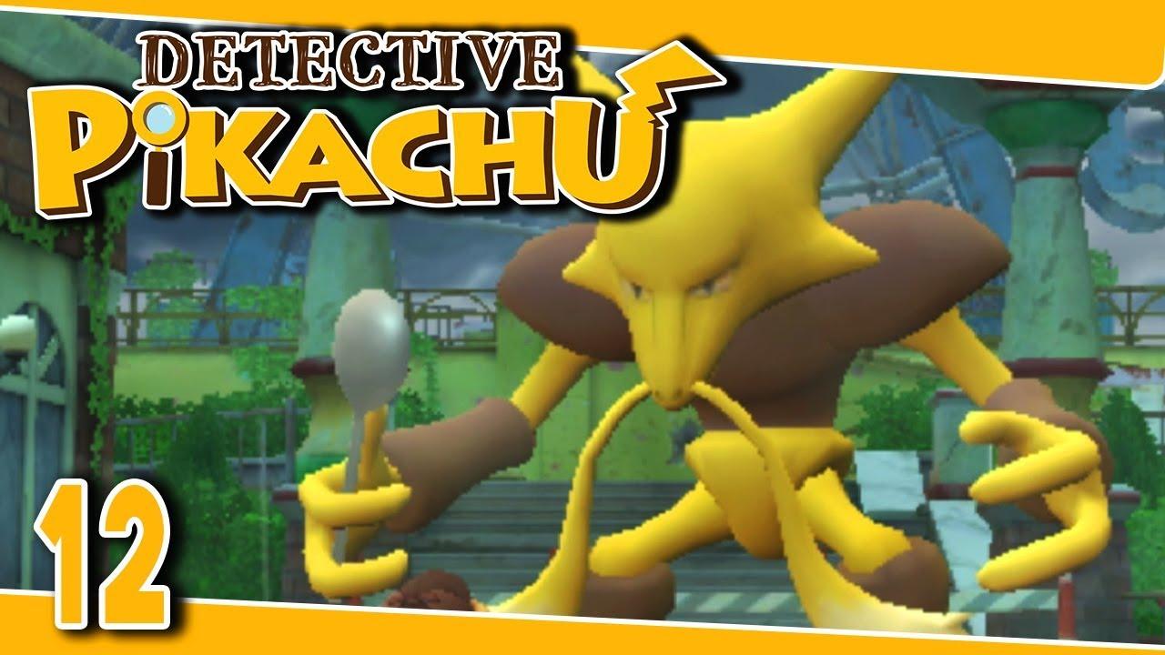 Detective Pikachu Part 12 The Berserk Charizard Gameplay