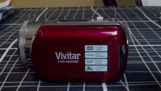 vivitar dvr 840x hd camcorder review