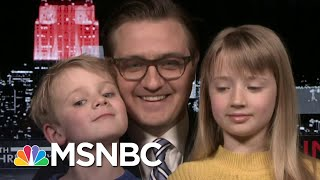 Chris Hayes Spreads Positivity With Moving Video And His Kids | All In | MSNBC