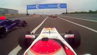 Formula Renault 2.0 | Start Race On Board Dijon - Prenois [HD] | Riccardo Cazzaniga