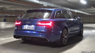 Audi RS6 C7 Performance with Audi Option Sport Exhaust LOUD Sounds!