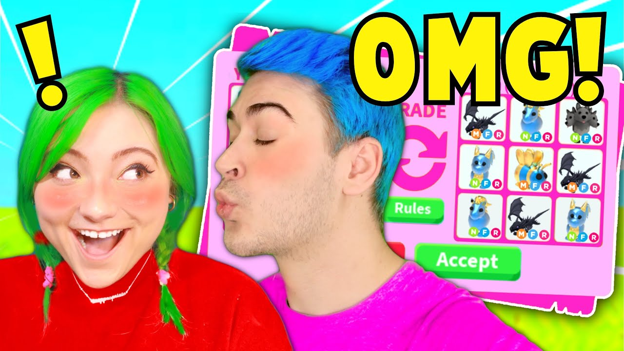 I Played ADOPT ME Until I *KISSED* My New GIRLFRIEND!! Finding STOLEN BABY *DREAM PET* (Roblox)