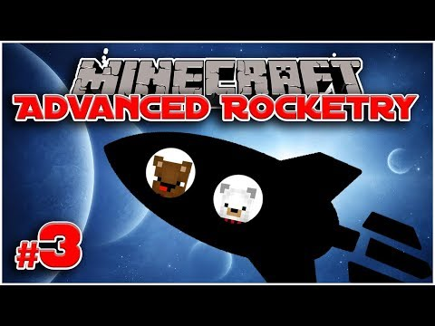 Let's Play Advanced Rocketry [Minecraft 1.12.2] #3 SOLAR PANELS!  - Bear Games In Space