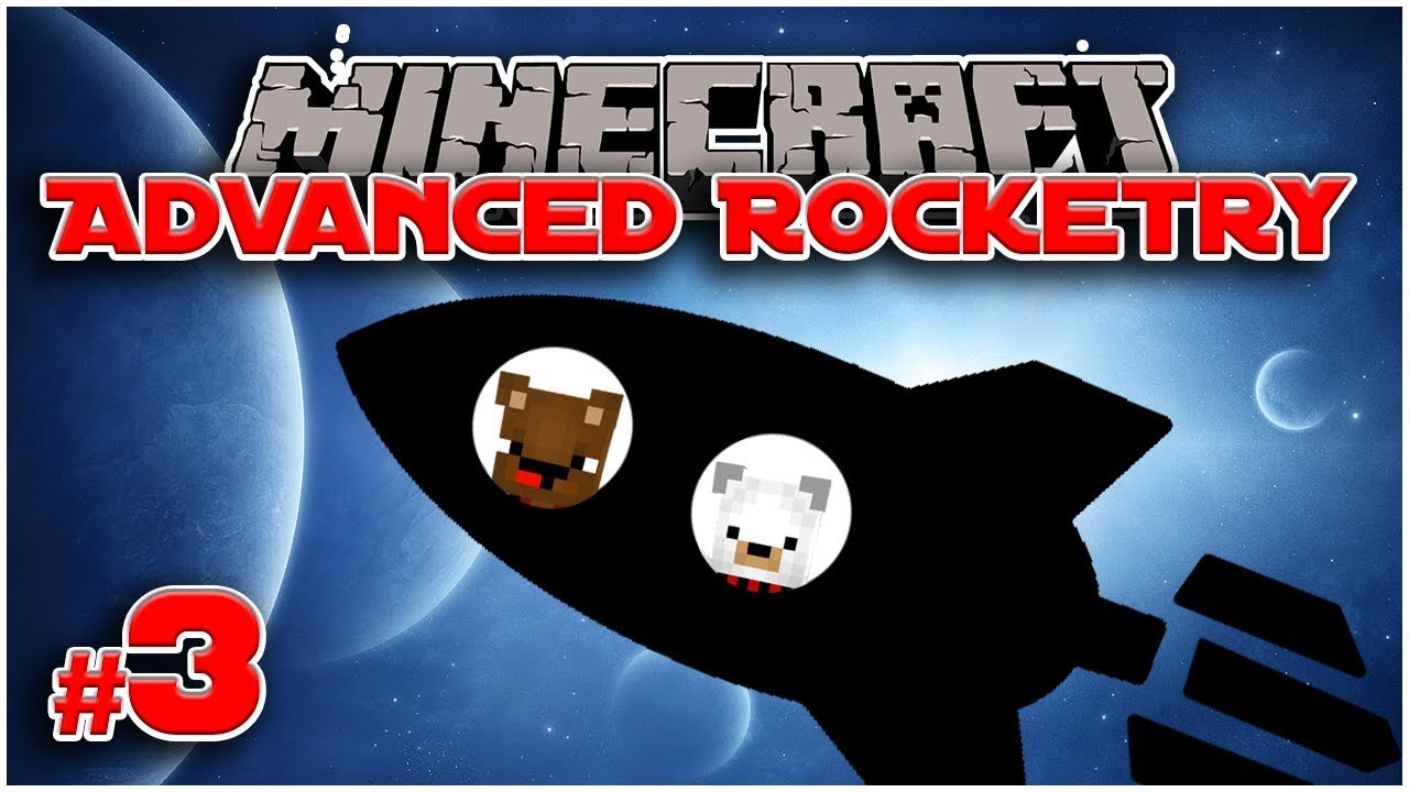 SOLAR PANELS! - #3 Let's Play Advanced Rocketry [Minecraft 1 12 2] - Bear  Games In Space