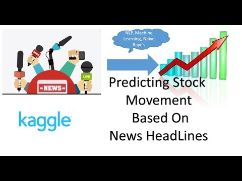 Kaggle Competition- Predict Stock Price Movement Based On News Headline using NLP