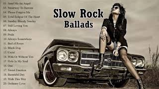 Scorpions, Bon Jovi, Led Zeppelin, Aerosmith, U2, Eagles Greatest Slow Rock Ballads Of 80's, 90's