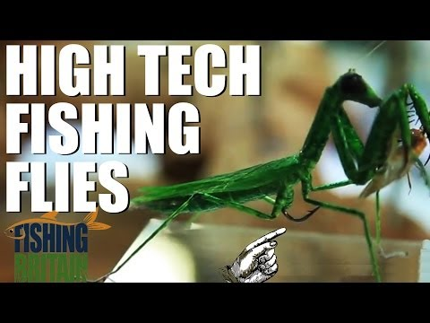 High Tech Fishing Flies - Fishing Britain episode 6