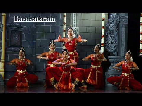 """Dasavataram """"Parkadal alai mele"""" - Sridevi Nrithyalaya - Bharathanatyam Dance"""