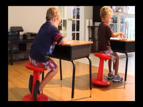 Kore Stools Kids Kore Wobble Chair 2 Youtube
