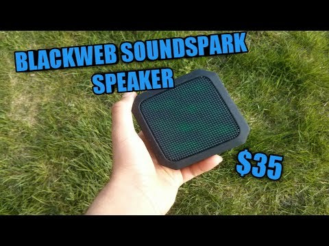 BlackWeb Soundspark Speaker Review - YouTube