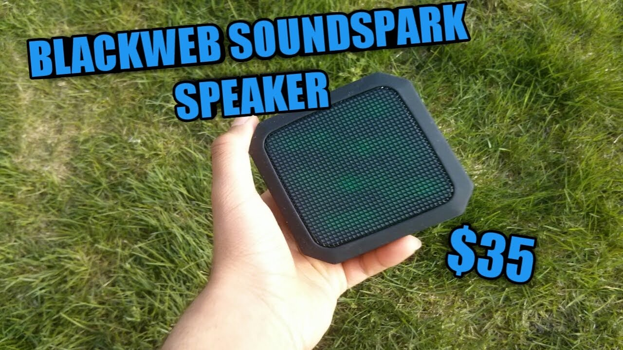 BlackWeb Soundspark Speaker Review