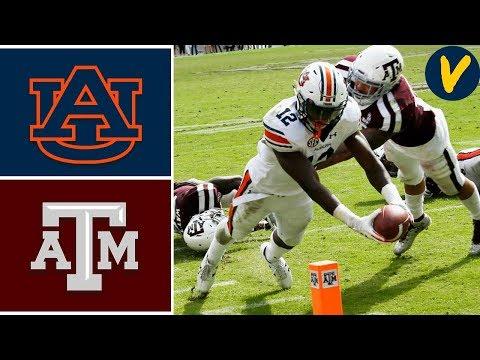 NCAAF Week 4 #8 Auburn vs #17 Texas A&M College Football Full Game Highlights