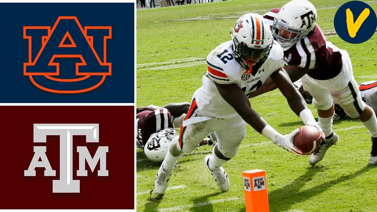 NCAAF Week 4 #8 Auburn vs #17 Texas A&M College Football Full Game Highlights