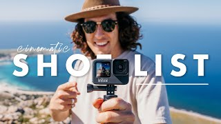 10 Cinematic GoPro Shots YOU NEED in your next TRAVEL FILM