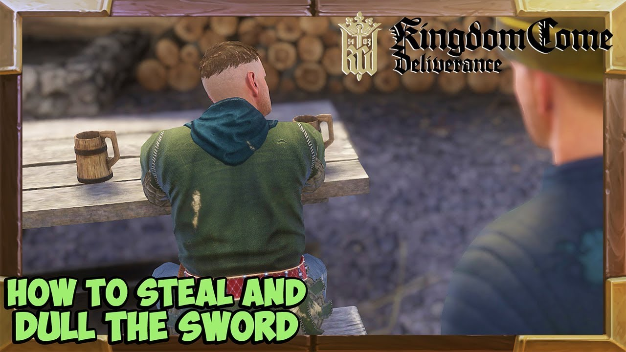 Kingdom Come Deliverance how to steal and dull Executioner's sword (Money  for old rope quest)
