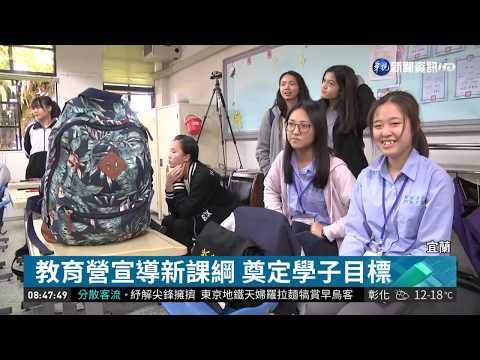 宜蘭多元教育營 提升學生三大素養| 華視新聞 20190122