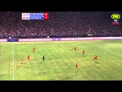 World Cup Qualifiers | Kyrgyzstan 1 V 2 Australia | Highlights