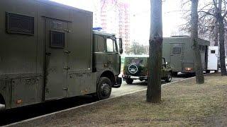 Аўтазакі у Менску раніцай 26 03 2017 | Автозаки в Минске утром 26 03 2017