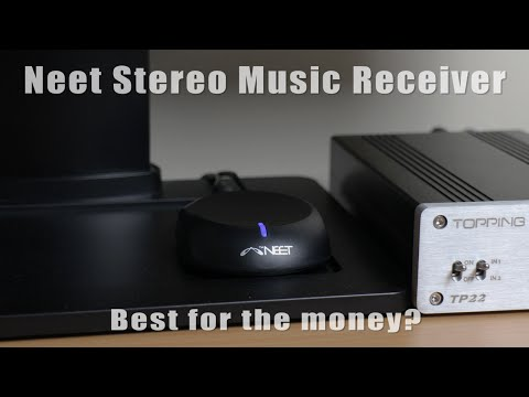 Neet Bluetooth stereo adapter - Set up, test & review